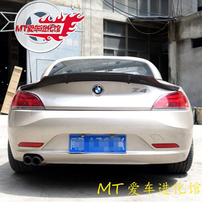 Z4 E89 Coupe Convertible high quality Carbon Fiber Car-styling Rear Wing Spoiler for BMW E89 Z4 18i 20i 23i 28i 30i 35i 09-14 1 1 replacement for bmw z4 e89 carbon fiber mirror cover 2009 2010 2011 2012 2013 z4 e89 30i 28i 20i 18i carbon