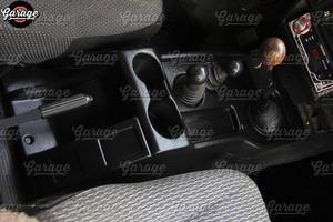 Image 2 - קונסולת של מרכז מנהרת לאדה ניבה 4X4 1995 על רצפה בסלון ABS פלסטיק פונקציה אביזרי ארגונית רכב סטיילינג כוונון