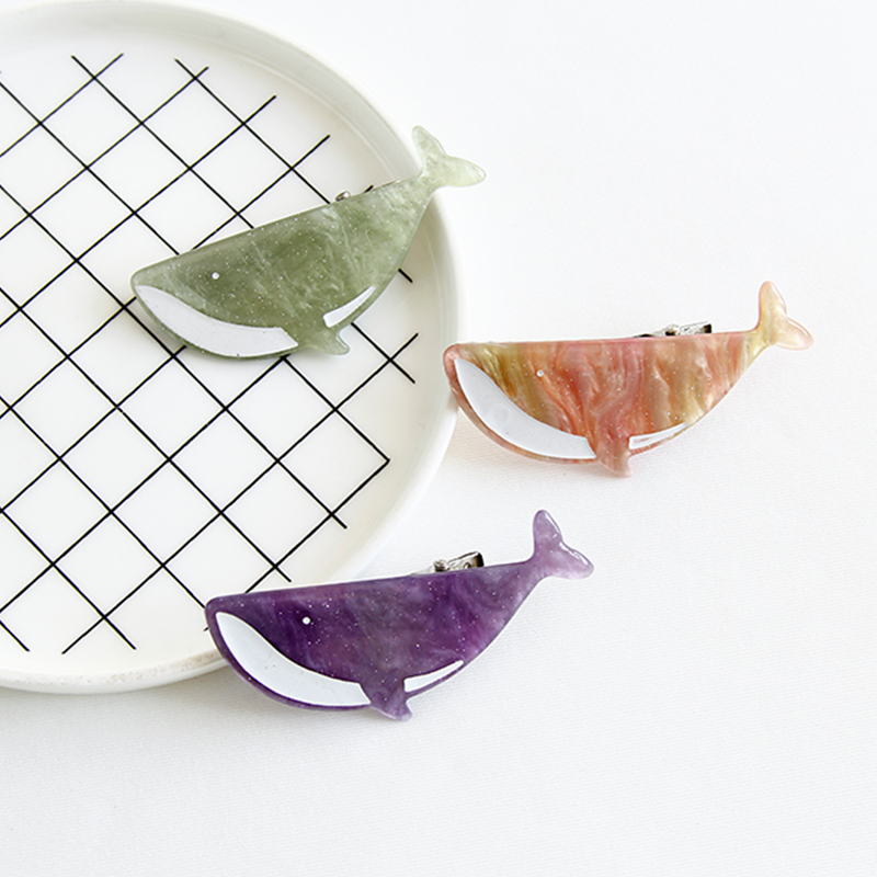 2018 Novelty Japan and Korea Fresh And Sweet Fish Shape Acetate Hair Clip Lady 39 s Hair Accessories in Women 39 s Hair Accessories from Apparel Accessories