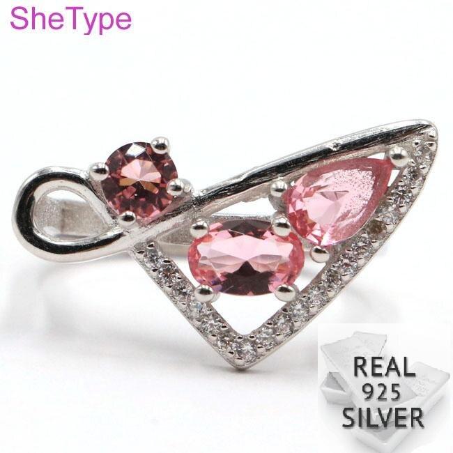 Plata Esterlina 5mm Rosa Cz Cristal Pernos Caja De Regalo Aros pendiente Stud