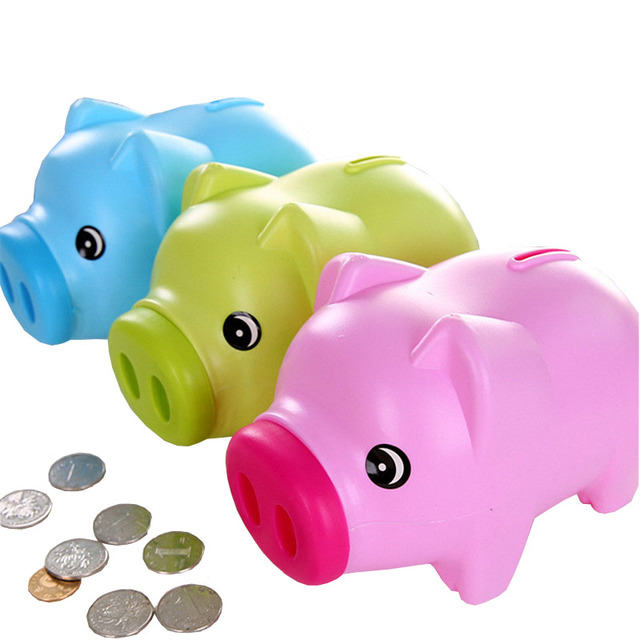 Cartoon Pig Piggy Bank Cultivate Children S Toys Family Ornaments Gifts For Relatives