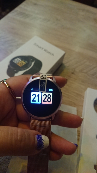 RUNDOING Q8 Smart Watch OLED Color Screen Smartwatch women Fashion Fitness Tracker Heart Rate monitor-in Smart Watches from Consumer Electronics on AliExpress - 11.11_Double 11_Singles' Day