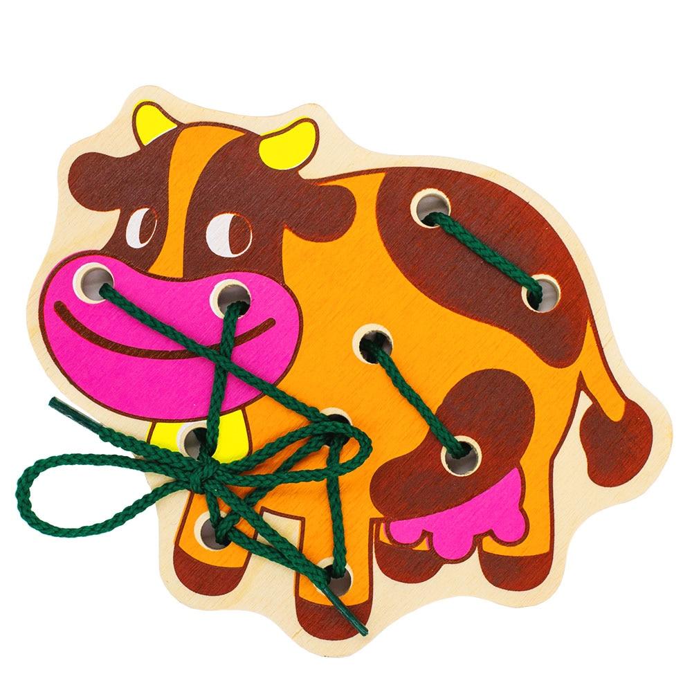 все цены на Puzzles Alatoys SHN05 play children educational busy board toys for boys girls lace maze toywood онлайн
