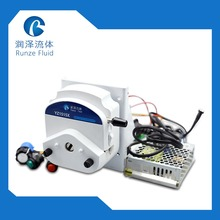 Chemicals Nutrient Peristaltic Metering Pump with Stepper Motor 110v- 220v Power Supply