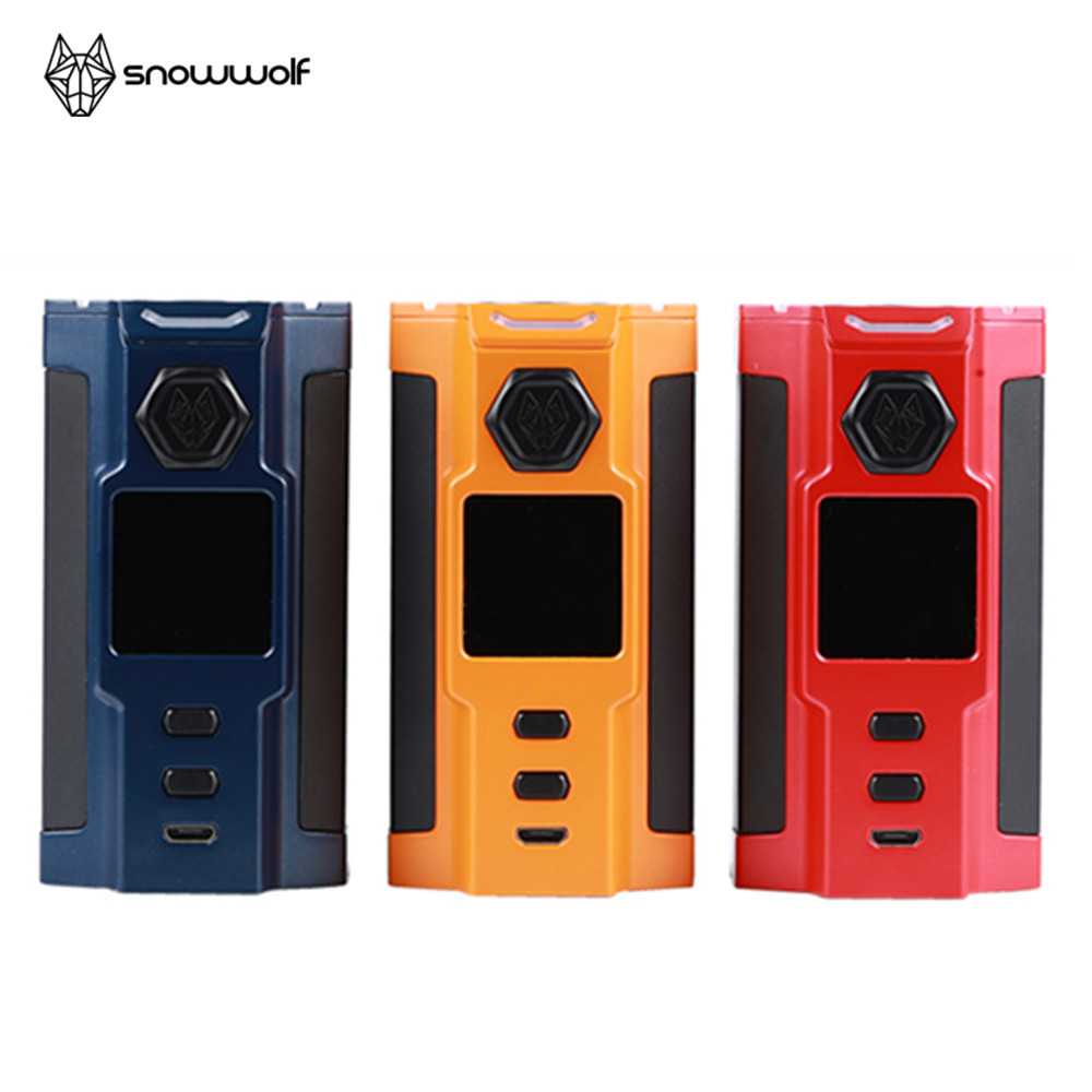 Original 230W Snowwolf Vfeng-S Mod electronic cigarette fit T3 Atomizer Vfeng S Mod vape Clearance without 18650 battery E Cig цена 2017