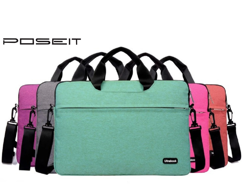"Laptop Handbag Notebook Shoulder Sling Bag Briefcase For 11 12 13 15"" Inchs Macbook Air Pro Dell XPS notebook protective case"