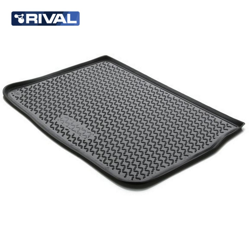 For Renault Scenic 2006-2010 trunk mat Rival 14708001 все цены