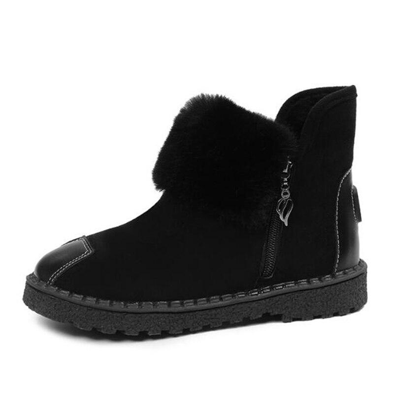 Salvaje Felpa Invierno Ocio Sh311 2019 Moda Nueva Calientes gris Mujer Negro khaki Nieve Botas Zapatos Tobillo Boot Otoño Harajuku De wwRq8zt