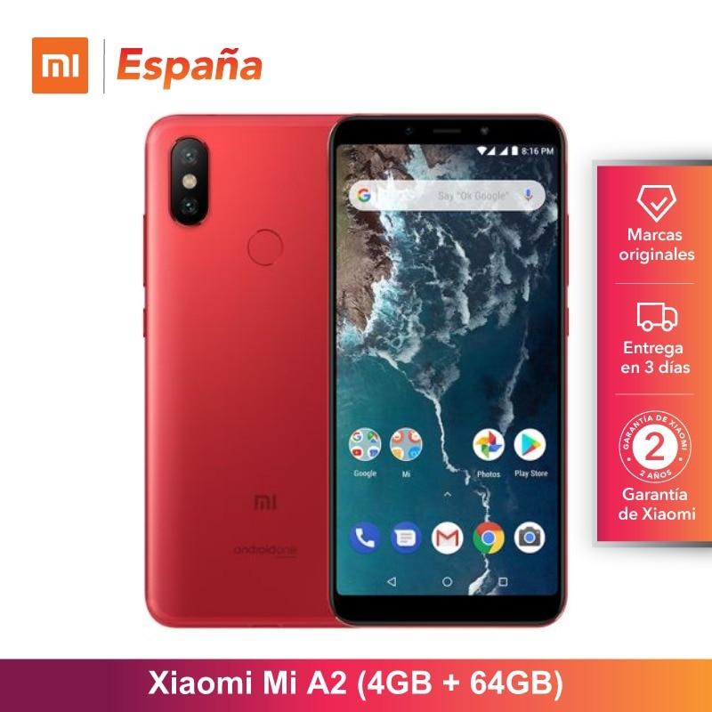[Version globale pour l'espagne] Xiao mi mi A2 (memia interna de 64 GB, RAM de 4 GB, Gran plafla 5,99