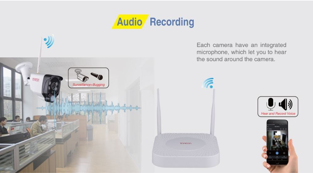 C2019NVR_Audio Recording