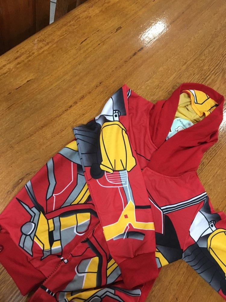 Children's Hoodies Cartoon Avengers Marvel Superhero Iron Man Thor Hulk Captain America Spiderman Sweatshirt  Boys Jacket 3-8Y