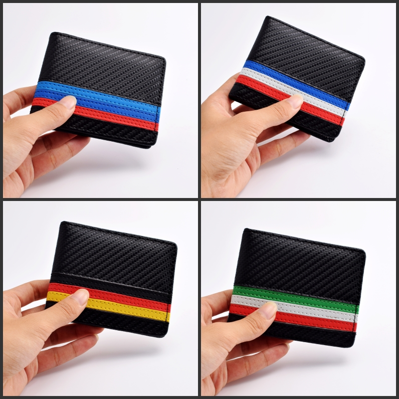 Genuine Leather Car Licence Bag Three colors Emblem For BMW M E60 E63 E64 E65 E70 E86 E89 E85 E90 E91 E92 E93 F10 F30 F15 F07