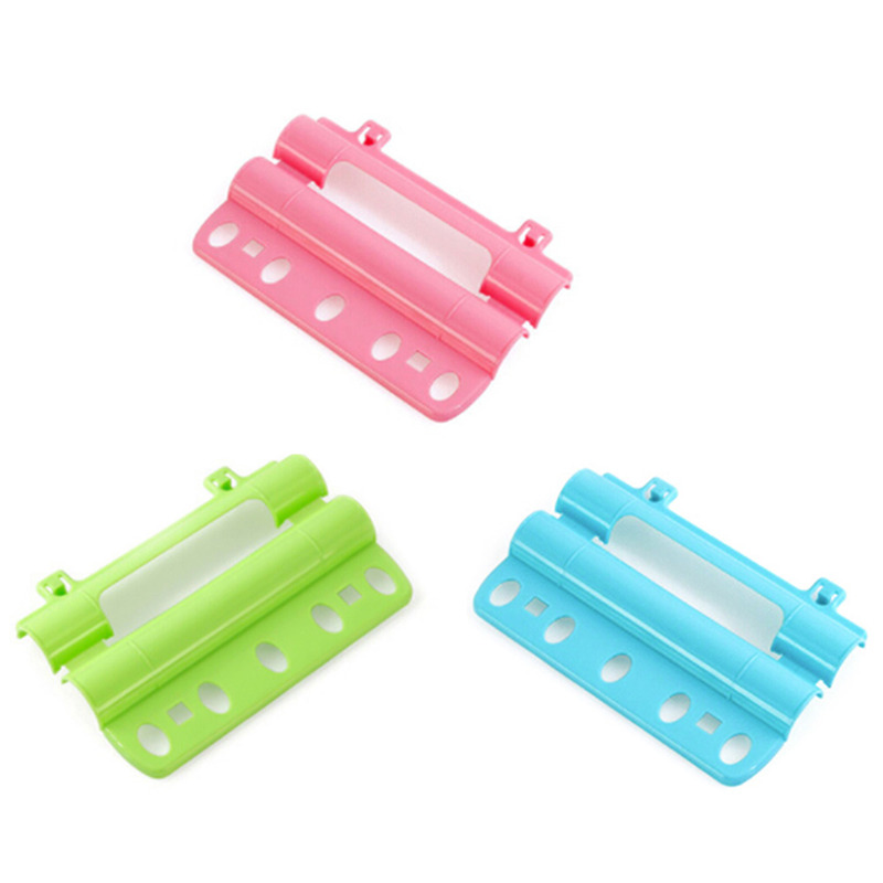 5 Holes For Hanging Clothes Creative Hanger Lock Anti Wind Anti Slip Hanger Rack With Fasten Buckle Pipe Shape