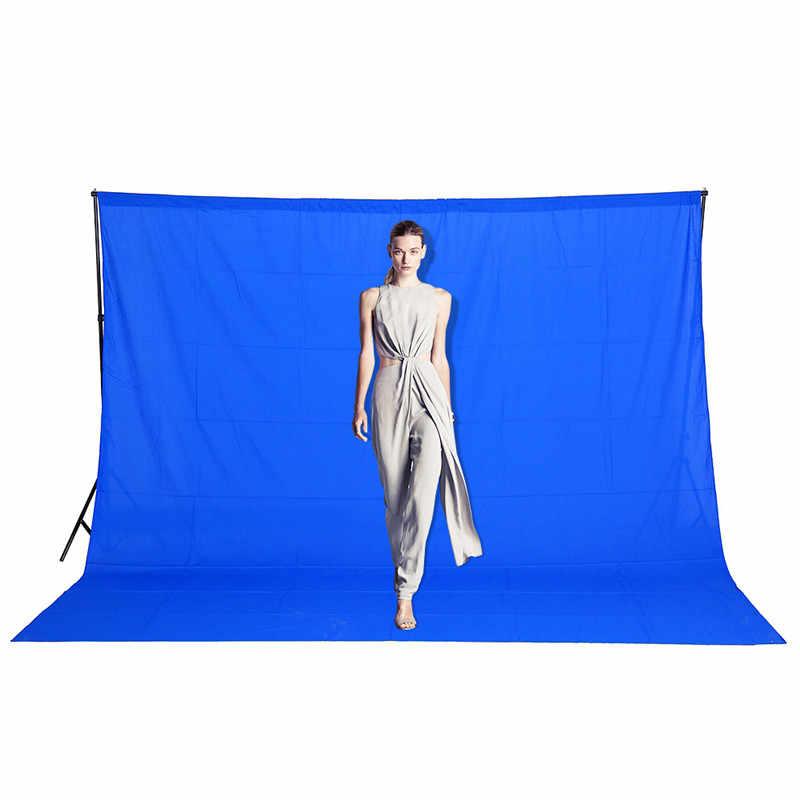 3 × 2メートル熱い販売写真撮影の背景写真スタジオの背景綿モスリンクロマキー緑画面の背景送料無料