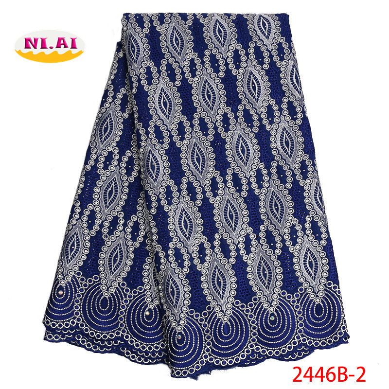 Nigerian Lace Fabrics 2019 African Swiss Voile Lace High Quality French Swiss Voile Lace in Switzerland
