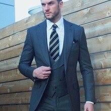 Пользовательские Homme обтягивающие Формальные Свадебные костюмы для мужчин на заказ мужские костюмы с брюками мужские костюмы Slim Fit Tuxedo