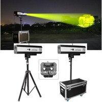 2 unit Theater Beam LED 330 Watt Follow Spots Light with Tripod Flight Case Theatre