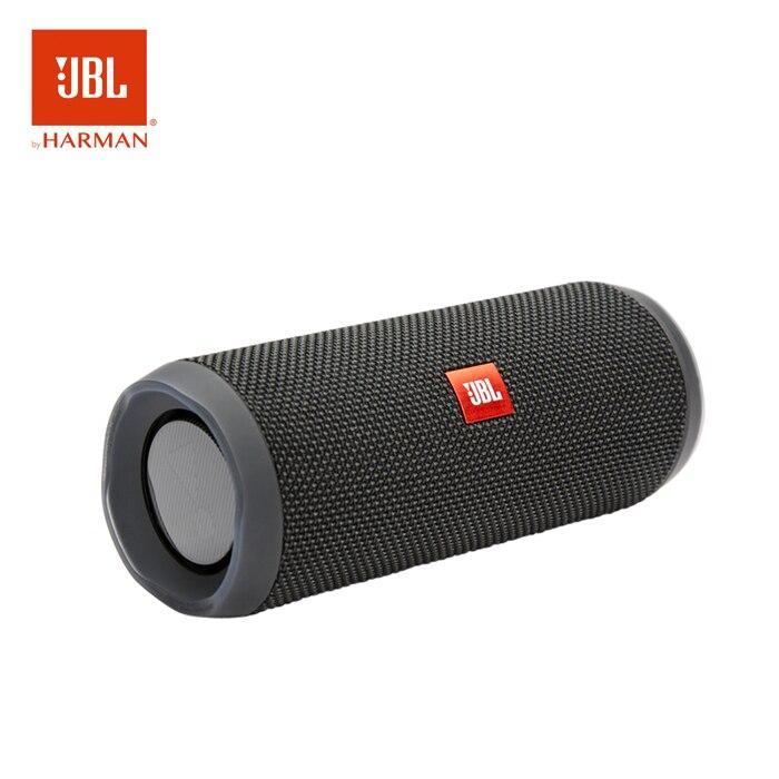 JBLFlip 4 sans fil Bluetooth Portable IPX7 étanche haut-parleur 12 heures musique 3D Surround extérieur ordinateur haut-parleurs mobiles noir