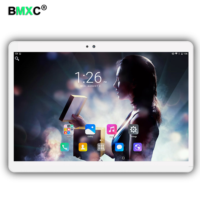 3G 4G LTE 1920x1200 Android 6.0 Tablet PC Tab 10.1 Inch IPS Octa Core 4GB + 32GB 64GB Dual SIM Card Phone Call GPS 10.1 tablets tablet pc octa core 8 inch double sim card t8 4g lte phone mobile metal android tablet pc ram 4gb rom 32gb 8mp ips wifi gps