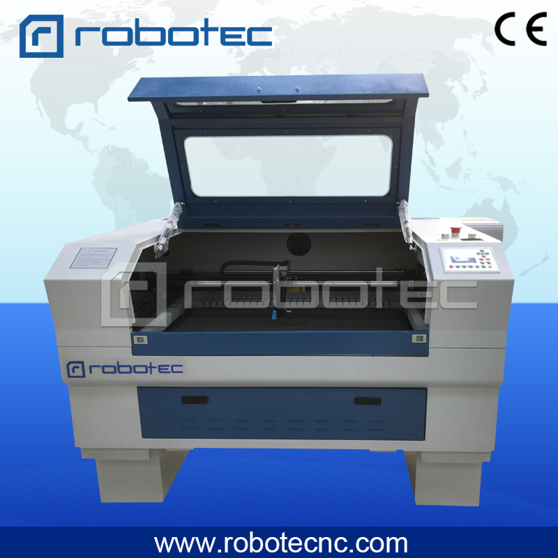 robotec small MINI laser machine!! laser leather cutting machine/ laser engraver 6090 4060