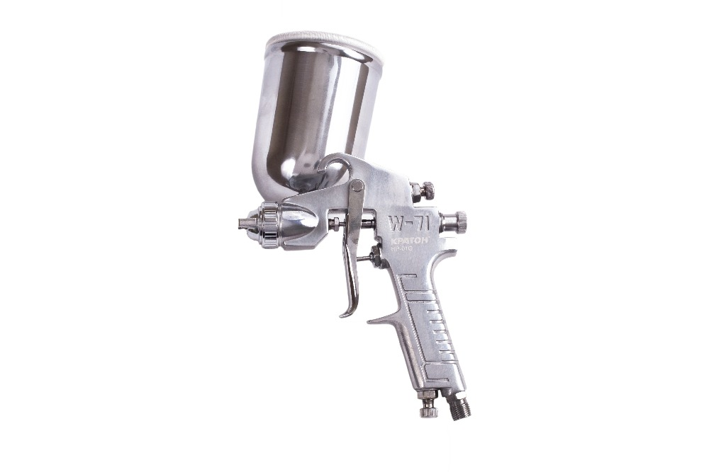 Paint spray gun KRATON HP-01G sat0083 hot on sales spray guns for car painting paint cup pneumatic compressor machine