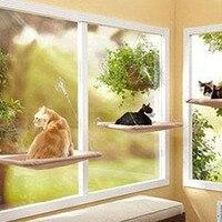 Assento ensolarado No Local Atacado Gato de Estimação de Sucção Tipo de Rolamento Rede Muitos Gatos