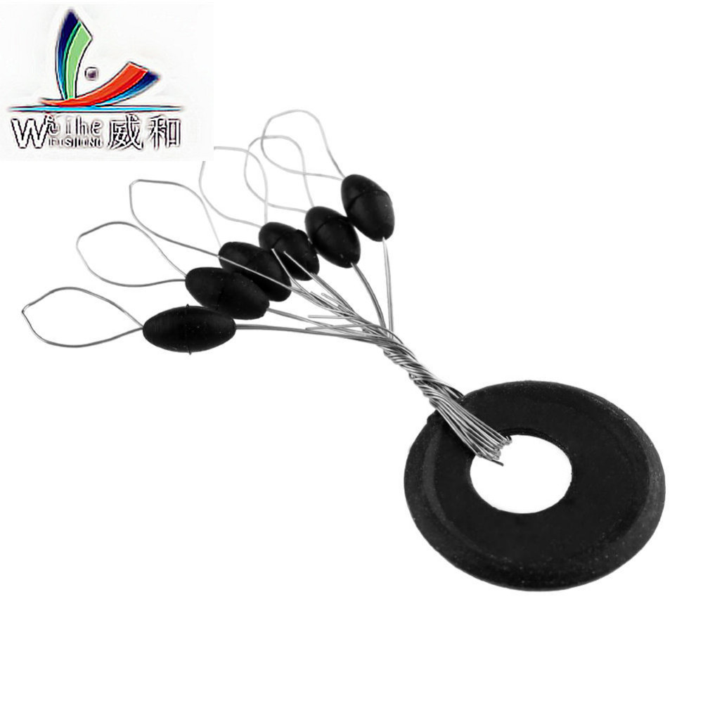 10 Group 60 Pcs Original Plastic Resistance Oval Space Bean Float So As Not To Damage Floating Lock Position Fishing Accessories