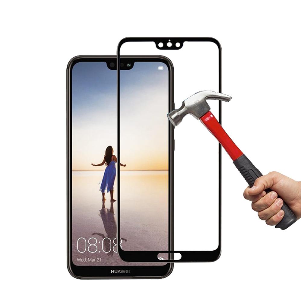 Protecteur d'écran pour Huawei P20 Pro verre trempé Huawei P20 Lite P20Lite protecteur d'écran en verre pelicula de vidro couverture complète