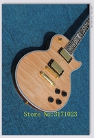 New Arrival G Custom Shop 1959 R9 Tiger Flame Les Supreme Electric Guitar The Fretboard Is