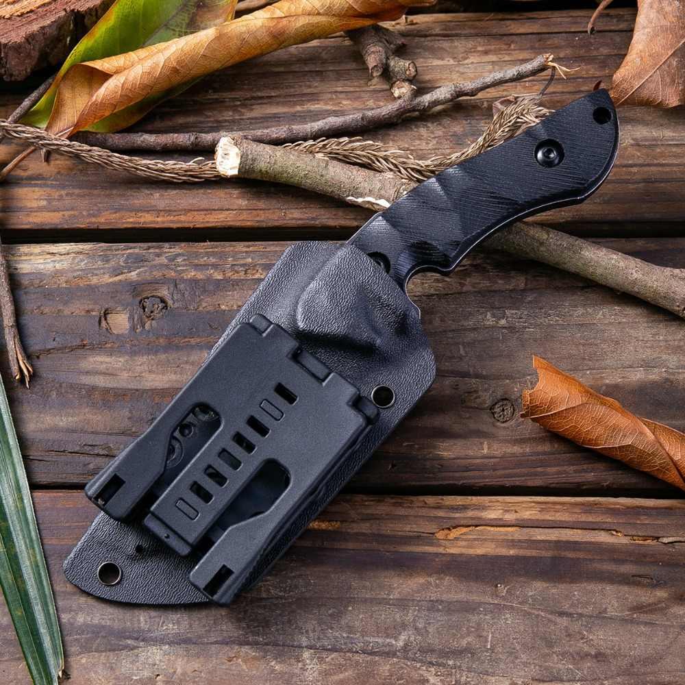 DAOMACHEN Yeni Tam Tang Açık Taktik Bıçak Survival Kamp Araçları Koleksiyon Avcılık Bıçakları Ithal K kılıf