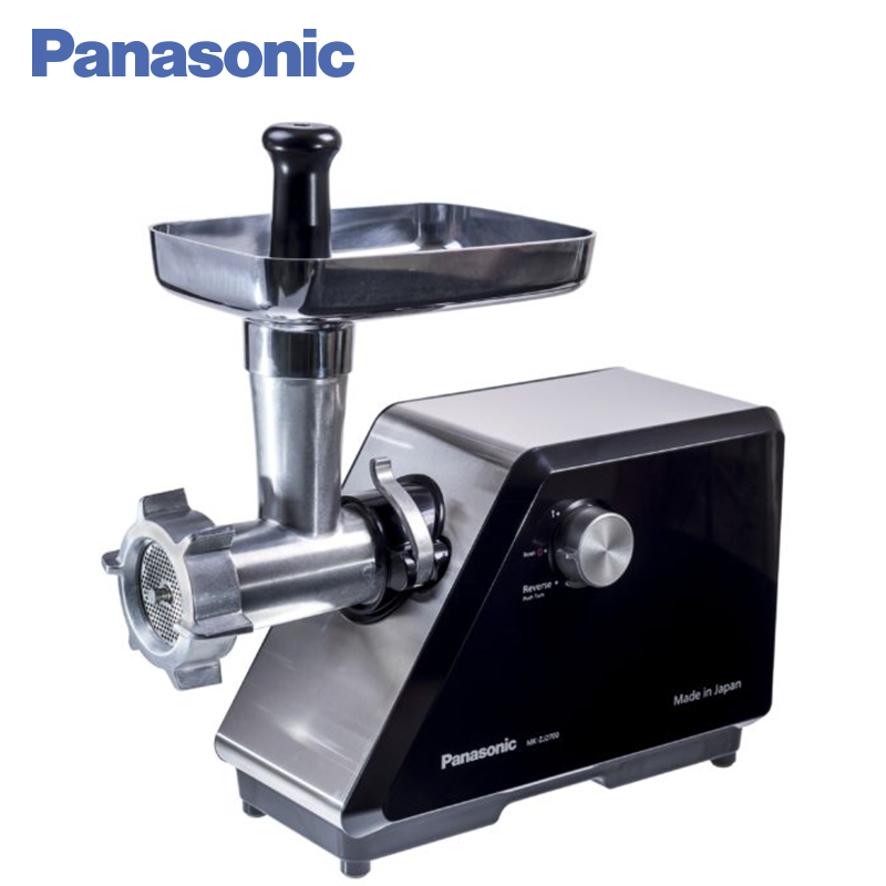 Panasonic MK-ZJ2700KTQ Meat Grinder Easy To Clean Multifunctional Household Automatic Meat Mincer Electric meat grinder machine 7l electric vacuum food pickling machine household vacuum food marinated machine commercial meat fried chicken marinator ka 6189