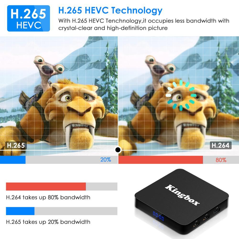 Image 5 - Android 9.0 Smart TV BOX asystenta Google RK3228 4G 64G Odbiornik TV 4K Wifi Media player sklepu Play wolne aplikacje Fast Set top BoxDekodery STB   -