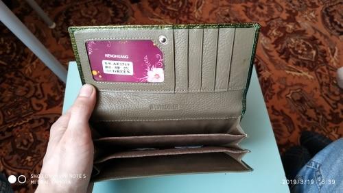 khnmeet клатч; держатель кредитной карты ; портмоне для женщин;