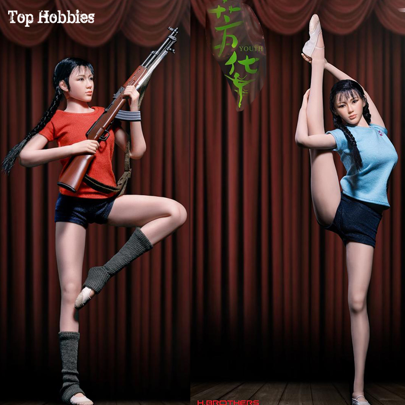 Complete Set TBLeague PL2018-111 Scale 1/6 Youth Art Troupe In 12 Inch Movable Action Figures Seamless Phicen Model Collection tbleague phicen pl2018 112 1 6th scale superhero comics the pro pro action figure w flexible body colletible model toys