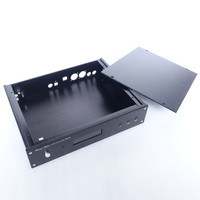 Aluminum Case For Weiliang ES9018 ES9028PRO ES9038PRO Decoder Board With XMOS Interface Amanero USB XLR Rca