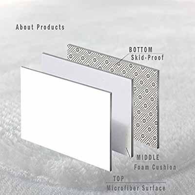 Autre vert rose carreaux géométrique 3d impression antidérapant microfibre salon décoratif moderne lavable zone tapis - 5