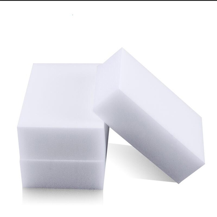 50pcs 10 6 2cm Magic Sponge Eraser Kitchen Duster Clean Accessory Dish Cleaning Melamine Sponge Nano Wholesale in Sponges Scouring Pads from Home Garden