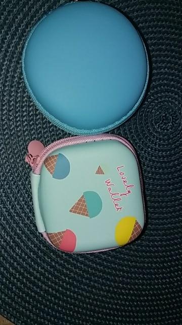 Leuke kaarthouder kleurrijke draagbare mini ronde harde opbergtas tas voor oortelefoon hoofdtelefoon SD TF kaarten Bolsa Menina Kids photo review