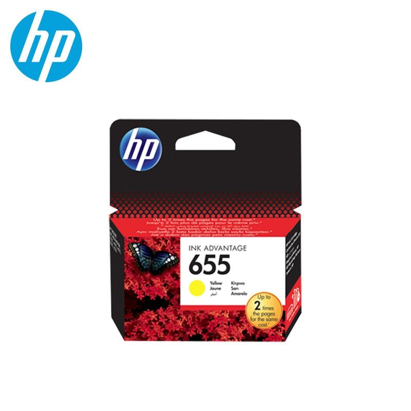Cartridge Hewlett-Packard HP 655 Yellow цена