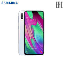 Смартфон Samsung Galaxy A40 4+64GB (2019)