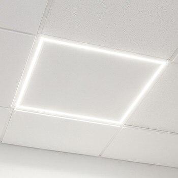 TECHBREY Panel LED de Marco Luminoso 60x60cm 40W 3600lm LIFUD para Techo desmontable con driver incluido, Cálido, Neutro y Frío