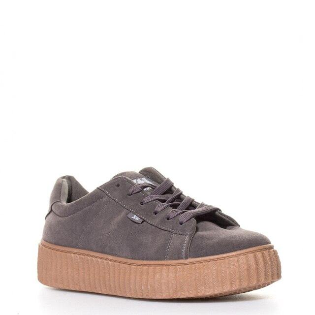 Zapatos grises Xti para mujer KNqUrjNoyf