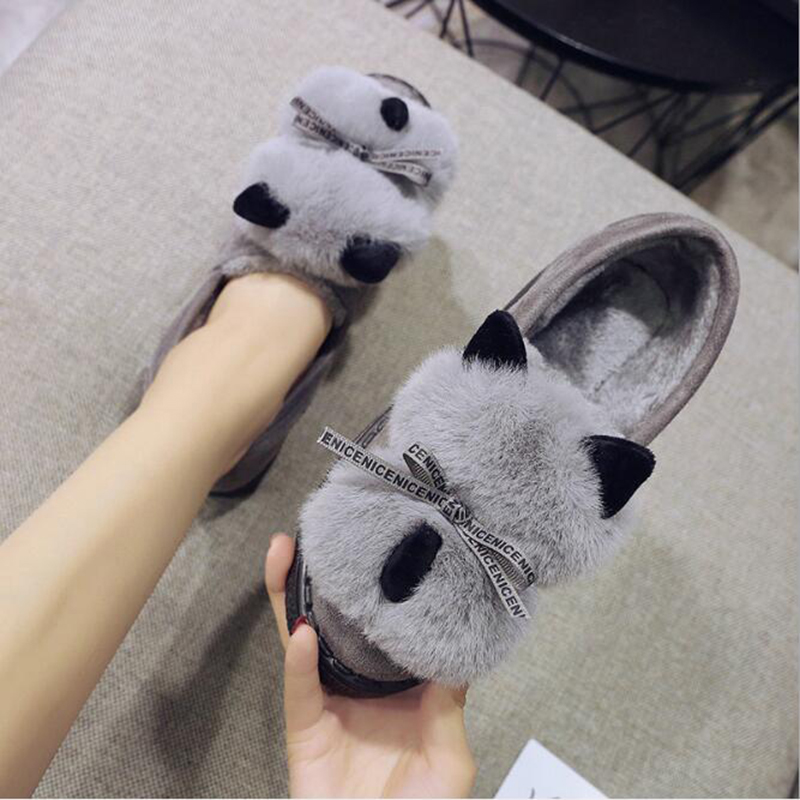 Confort Calidad Mujer Planos Forme Cálido Alta Negro Nieve Redonda gris Cabeza Mujeres 2019 Animales De Zapatos khaki Botas A La Historieta Sh307 7zZqv