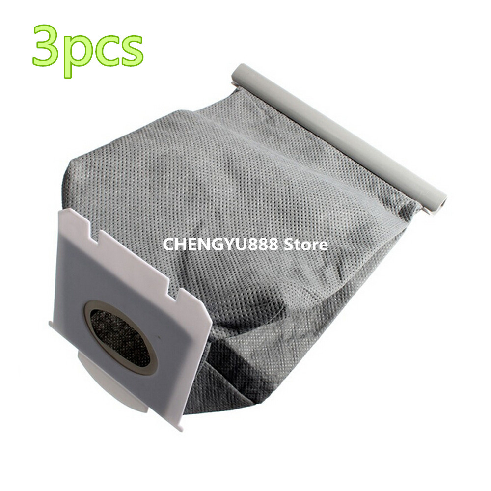 3pcs Vacuum Cleaner Bags Dust Bag Replacement For Philips FC9071 FC8134 FC8613 FC8614 FC8220 FC8222 FC8224 FC8200 philips fc9071 01