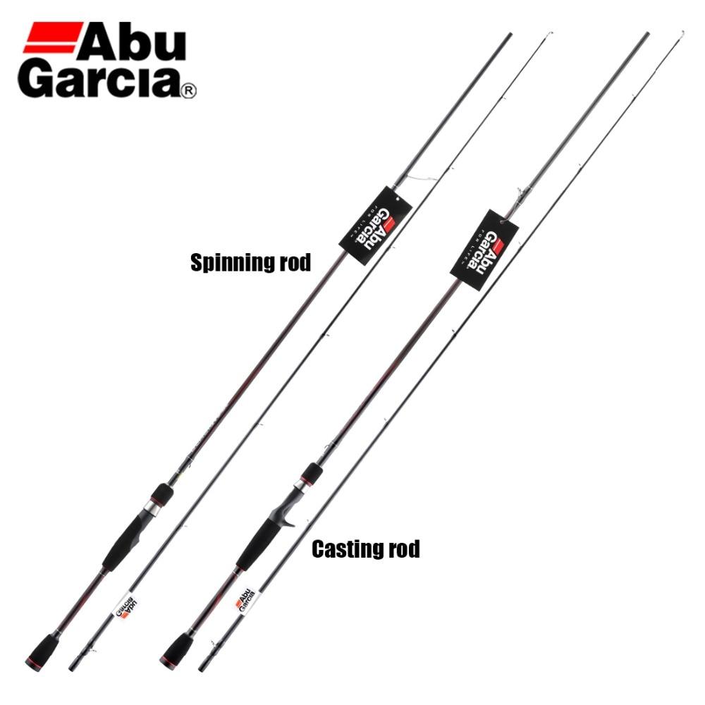 Fishing-Rod Lightweight Spinning Saltwater Fast-Action Black Abu Garcia Power MAX C802M
