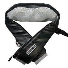 UBlack массажер для шеи и плеч, 3 скорости для роликового массажа, таймер с автоотключением через 15 минут, инфракрасный прогрев, RestArt
