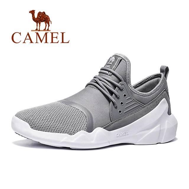 CAMEL Breathable Light Weight Running Shoes Bounce Comfortable Footwear Sports Sneaker Shoes For Men and Women