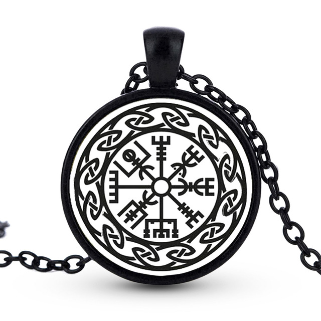 Time Necklace Myth Symbol Of Norse Man Necklace Warrior Scandinavian