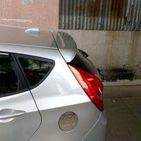 Para Verna Saqueador hatchback 2011 2015 ABS Material Cor Primer Traseira Do Carro Asa Spoiler Traseiro|Spoilers e aerofólios| |  -