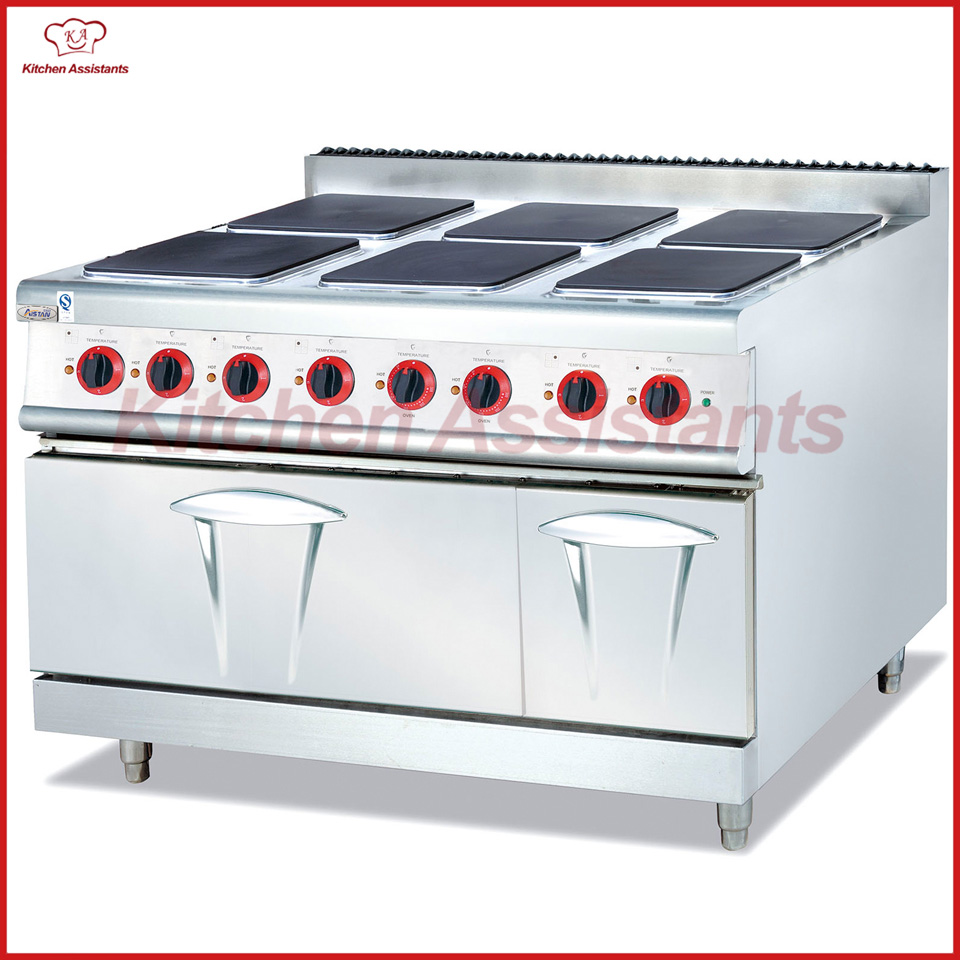 EH897A electric range with 6 hot plate with oven
